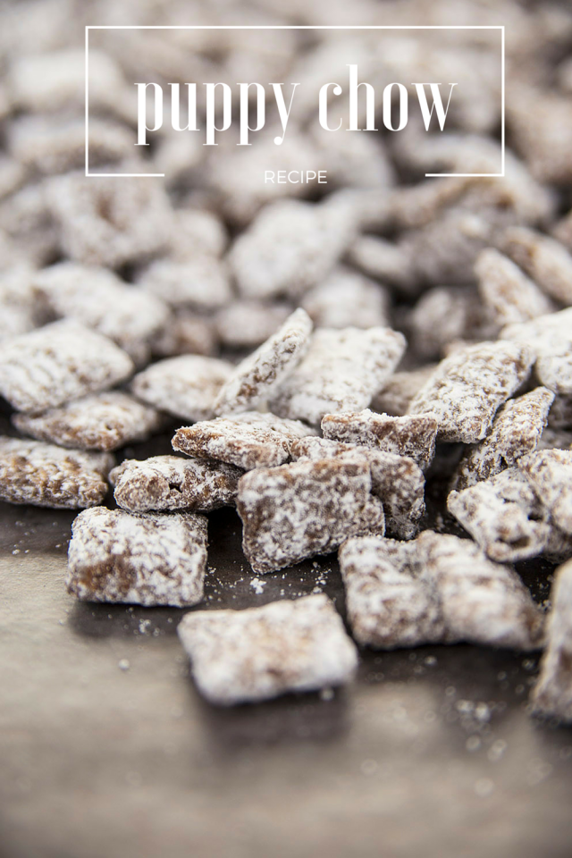 Peanut Butter Chocolate Chex Puppy Chow