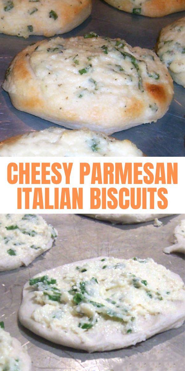 Cheesy Parmesan Italian Biscuits Recipe