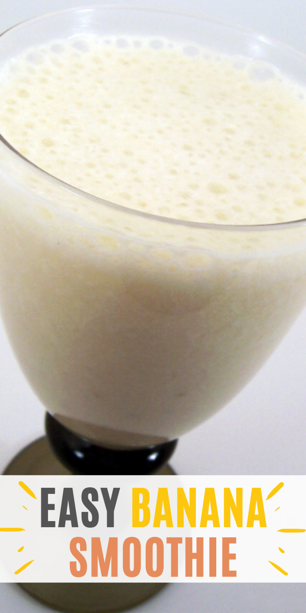 Easy Banana Smoothie Recipe Momspark Net Undefinedsite Title
