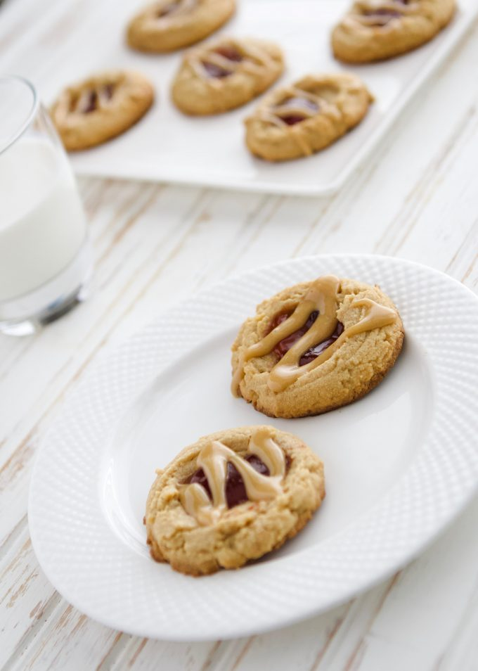 Peanut Butter and Jelly (PB & J) Cookies Recipe