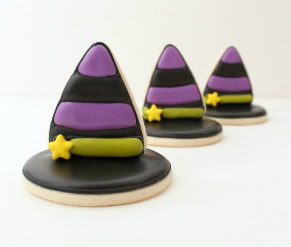 Halloween 3D Witch Hat Cookie Recipe