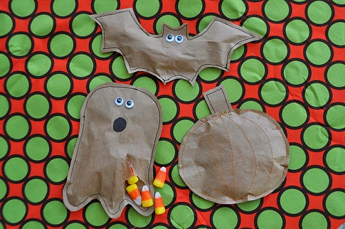 Halloween Candy Package Craft