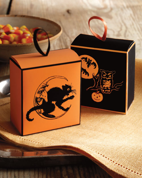Halloween candy boxes craft