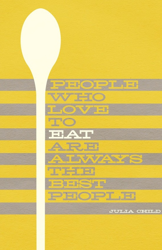 Quotes About Eating and Cooking.