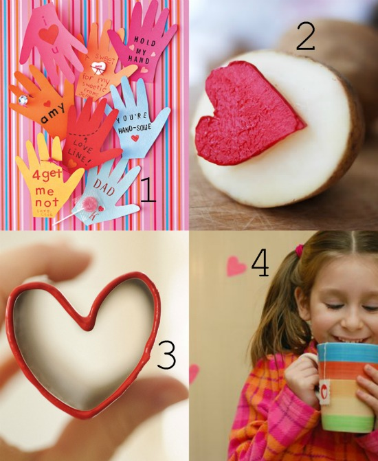 Cute and Easy Valentine's Day Crafts For Kids momspark.net