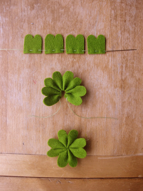 St. Patrick's Day Four Leaf Clover Craft