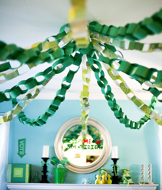 Decor Ideas For St. Patrick's Day party