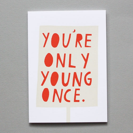 quotes about being young
