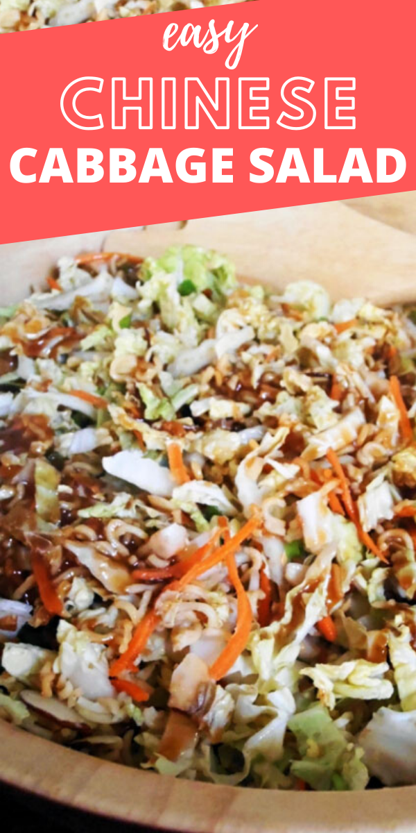 Easy Chinese Cabbage Salad Recipe