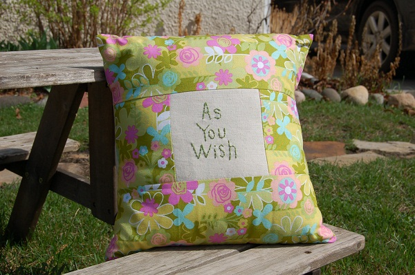 as you wish pillow
