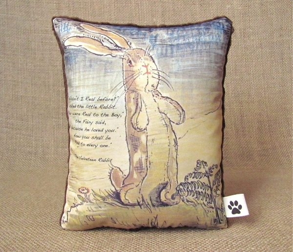 velveteen rabbit pillow