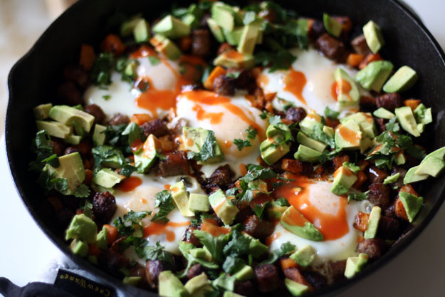 cowboy skillet paleo recipe eggs