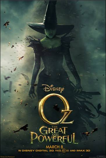 Oz The Great and Powerful Poster Witch
