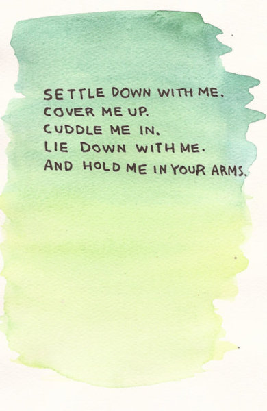 Quotes About Cuddling