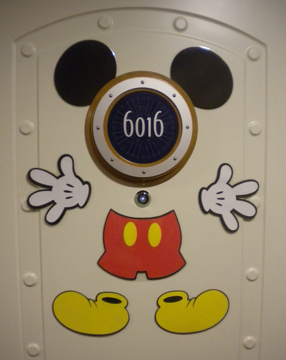 Mickey Mouse Disney Cruise Stateroom Door Magnet
