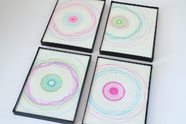 Simple, Modern Spirograph Art (tutorial) momspark.net