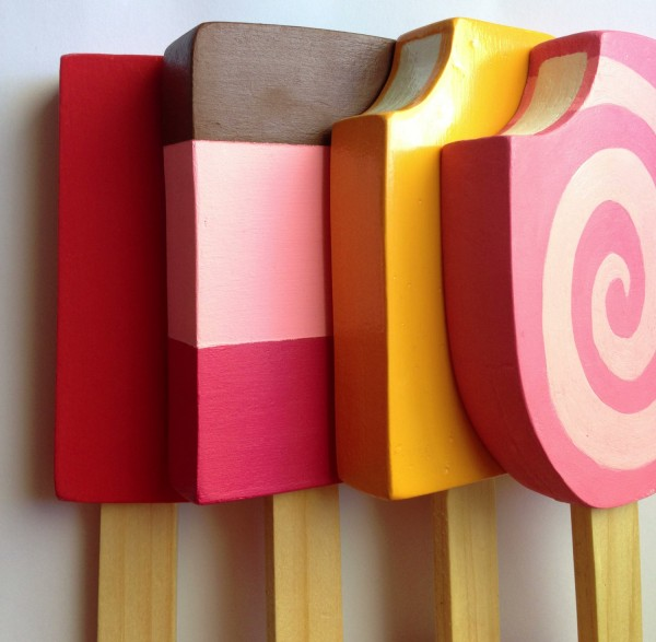 wooden popsicles toy on Etsy