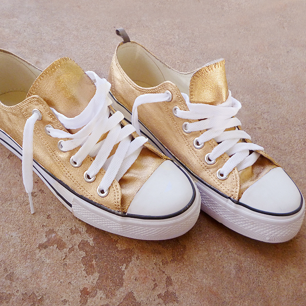 24 K Baby Shoes Makeover