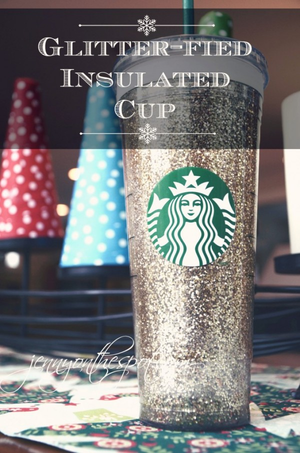 Mod Podge Glitter Insulated Cup