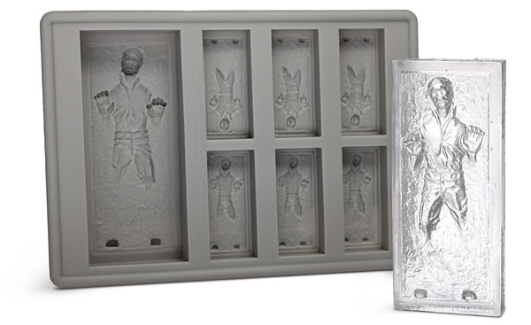 Han Solo Carbonite Ice Cube Tray Father's Day