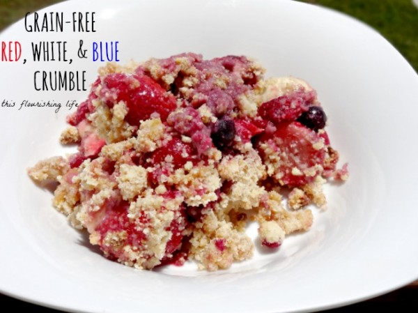 Grain-Free Red, White, And Blue Crumble