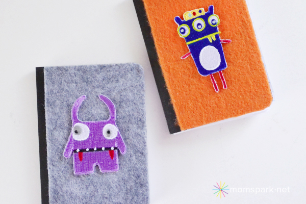 Personalized Monster Notebook Tutorial