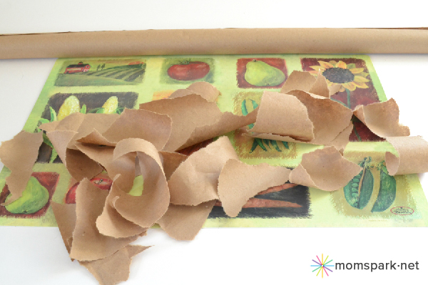 DIY Faux Leather Placemats Tutorial
