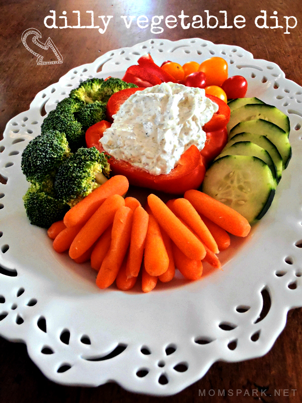Dilly Vegetable Dip Recipe