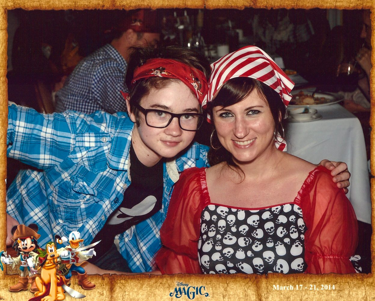 Disney Magic Cruise Pirate Night