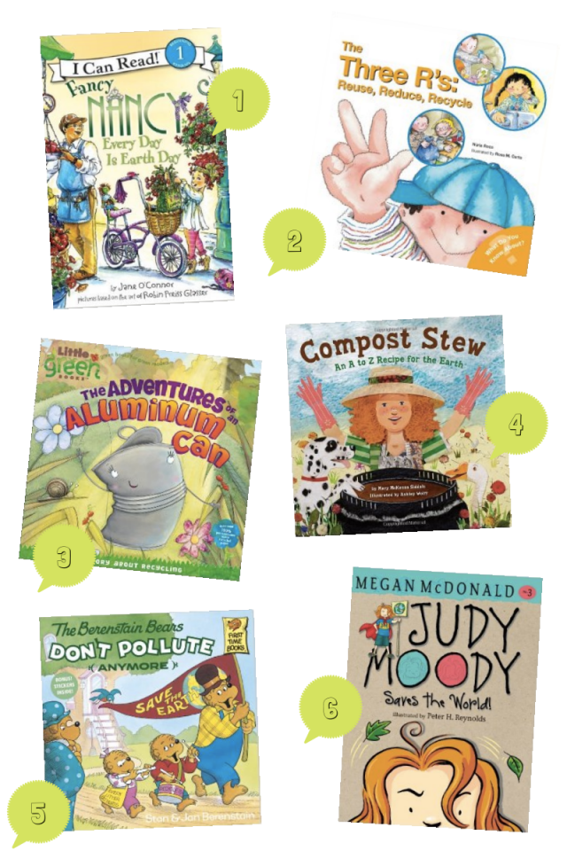 Earth Day Books For Kids! Earth Day is coming up on April 22nd and is a fantastic opportunity to get your kiddos involved in why we need to care for our planet! We all know that things that recycling, reusing, picking up trash, and composting are great ways to help our planet -- but do your kiddos know why we do the things we do? This year, use Earth Day as a learning opportunity and help your little Planet Savers learn about all the ways they can help! Here are a few great Earth Day books for kids that'll help them understand why it's so important to care for our planet! Plus, scroll down for some fun Earth Day activities for kids of all ages!