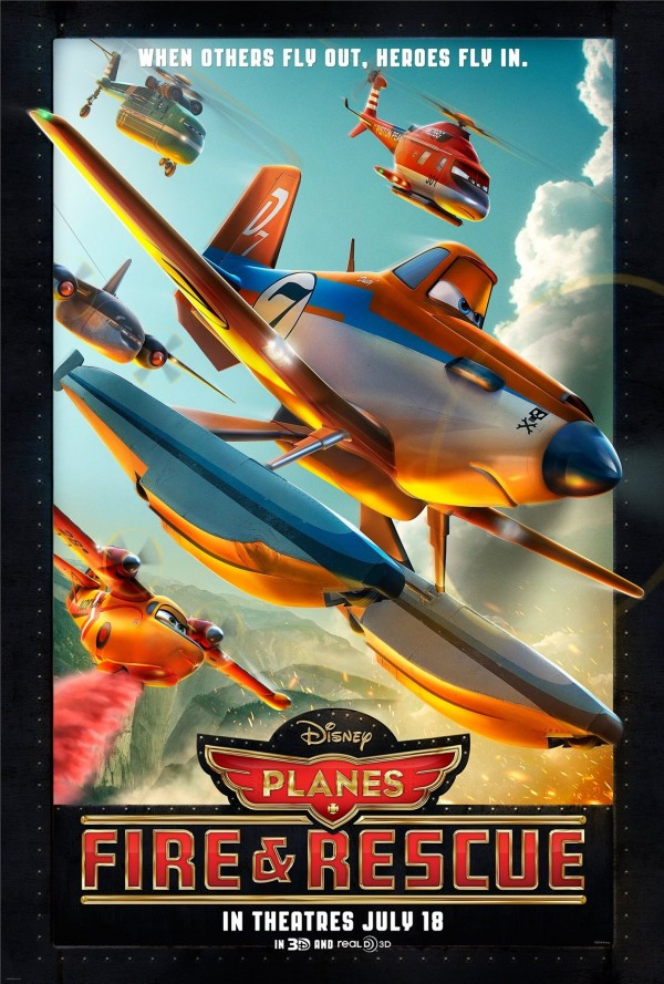 PLANES FIRE & RESCUE: The Research