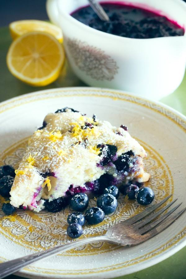 The Easiest, Prettiest Ever Meyer Lemon and Blueberry Cake Recipe
