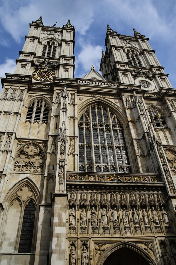 Westminster Abbey in London, England