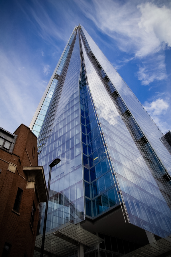 The Shard in London, England.