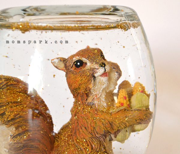 DIY Fall Snow Globe Tutorial