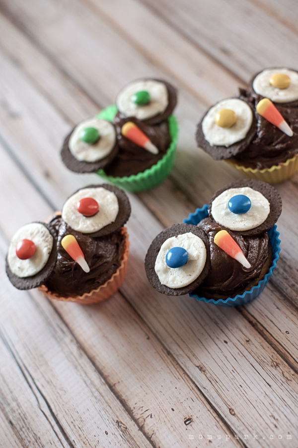 How to Make Owl Cupcakes for Fall and Halloween!