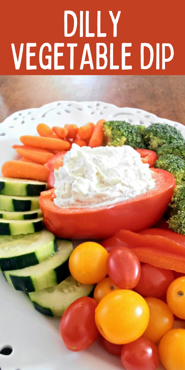 Easy Dilly Vegetable Dip Recipe