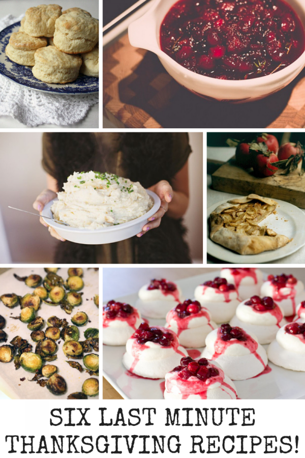 6 Last Minute Thanksgiving Recipes That Are Simple And Delicious
