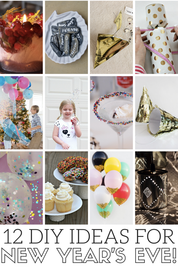 12 DIY Ideas For New Year's Eve