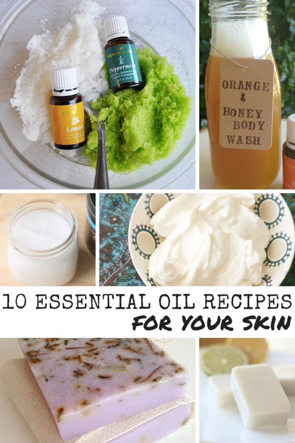 10 Essential Oil Recipes For Your Skin