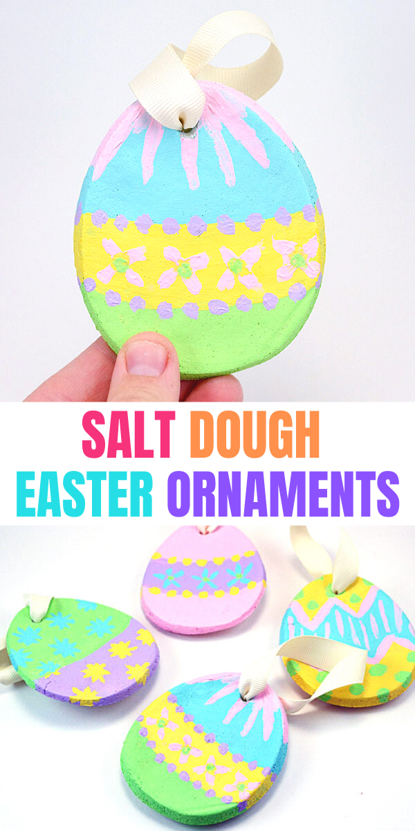 Salt Dough Easter Ornaments DIY
