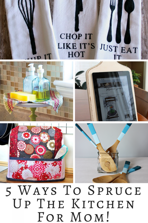 Spruce Up The Kitchen For Mom This Mother's Day