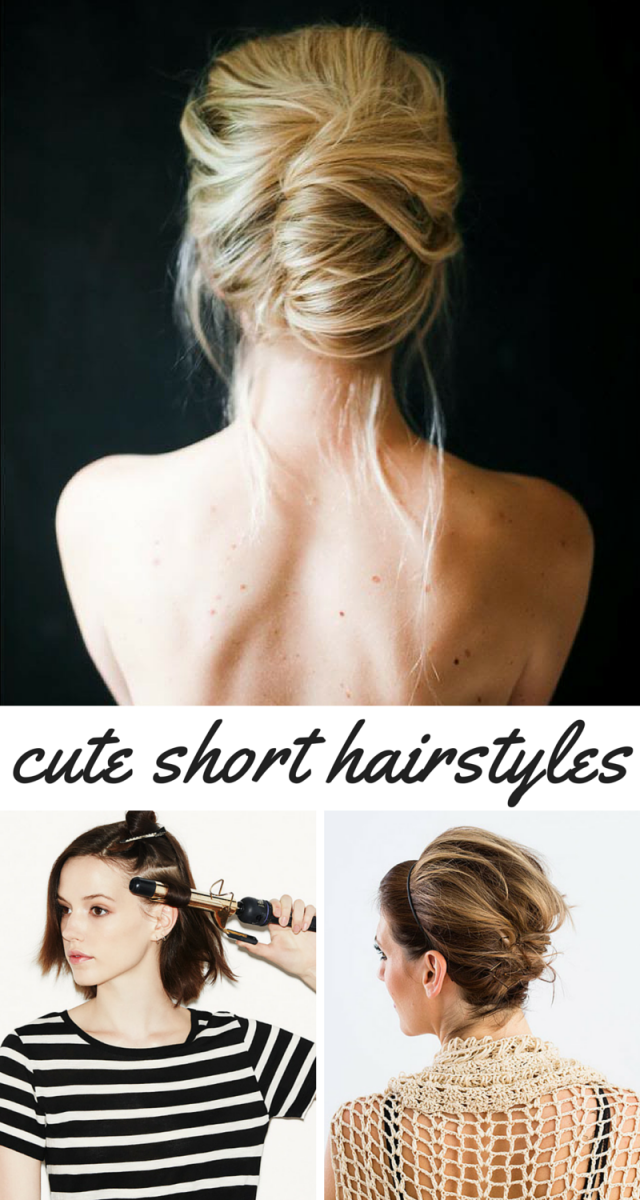 Awesome Ways To Style Short Hair This Summer