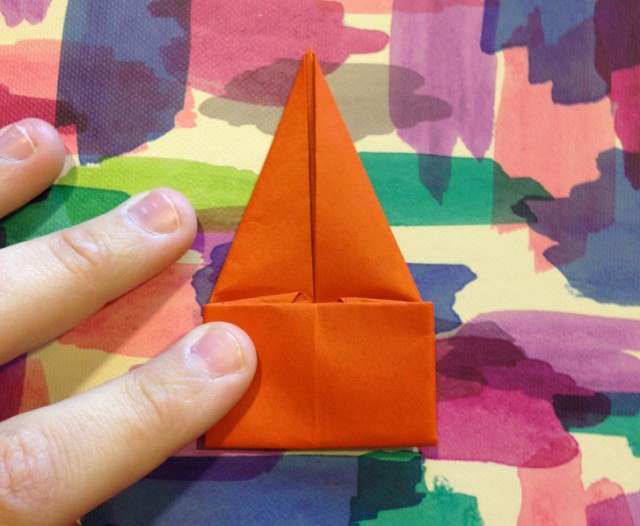 Remember paper hopping frogs? All it takes is a square piece of paper for these super fun and easy little origami toys!