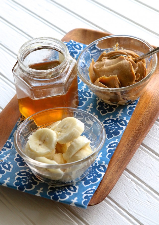 Dairy Free Peanut Butter Honey Banana Ice Cream