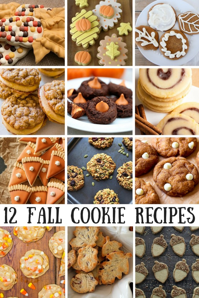 12 Fall Cookie Recipes To Try This Season