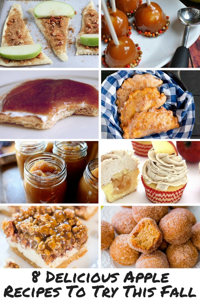 8 Delicious Apple Recipes To Try This Fall