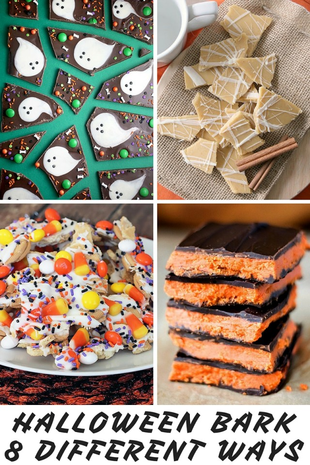 Halloween Candy Bark Recipes 8 Different Ways
