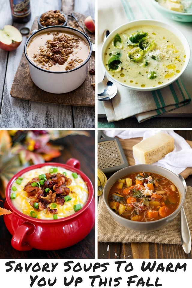 Savory Soups To Warm You Up This Fall