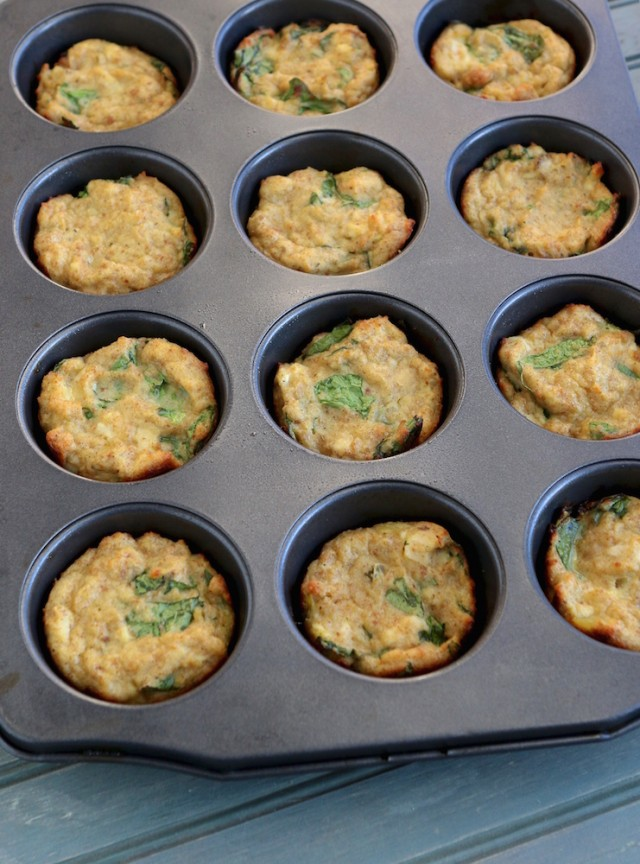 Leftover Turkey Stuffin' Muffins